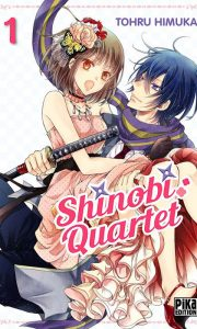 Shinobi Quartet tome 1