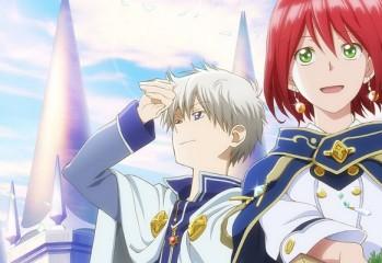 Shirayuki aux cheveux rouges anime