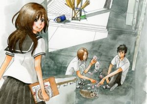 Spiritual princess Akihime, Shun et Takeru