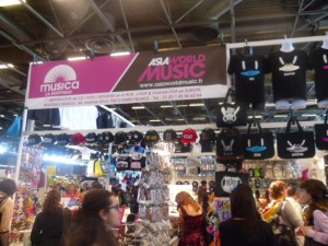 Le stand Musica à Japan Expo 2013