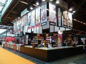 stand de deux éditeurs à Japan Expo 2013