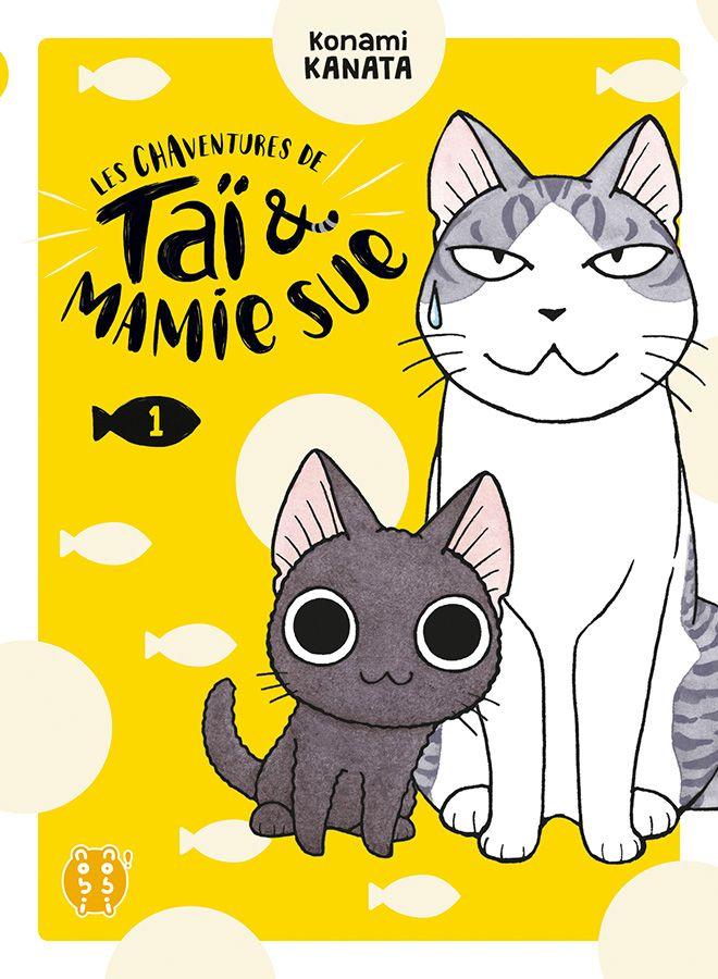 Couverture du tome 1 des Chaventures de Taï et Mamie Sue