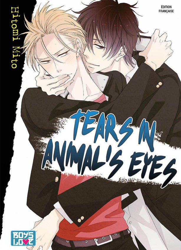 manga Tears in animal's eyes