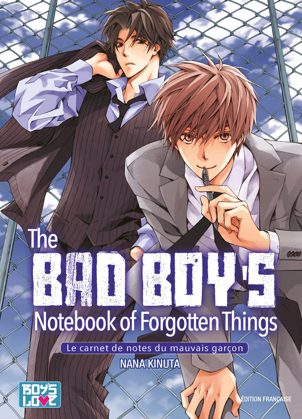 manga The bad boy's notebook of forgotten things
