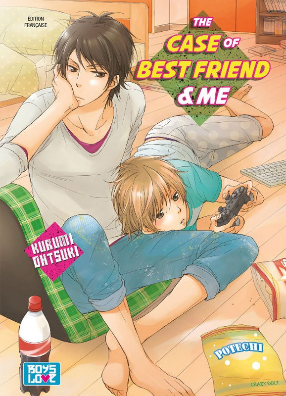 manga The case of best friend & me