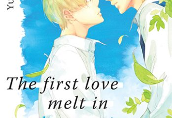 manga The first love melt in ultramarine