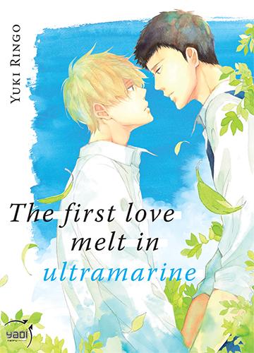manga The first love melt in ultramarine