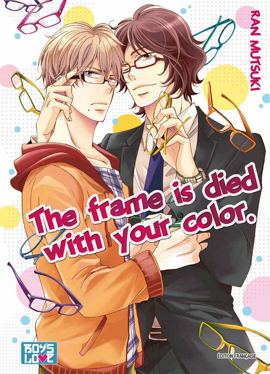 Manga The frame is died with your color