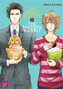 manga The wolf in love and the hungry rabbit