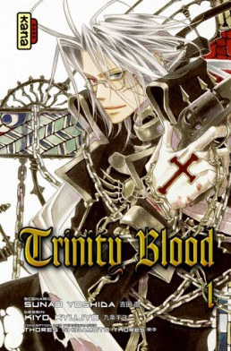 manga Trinity blood