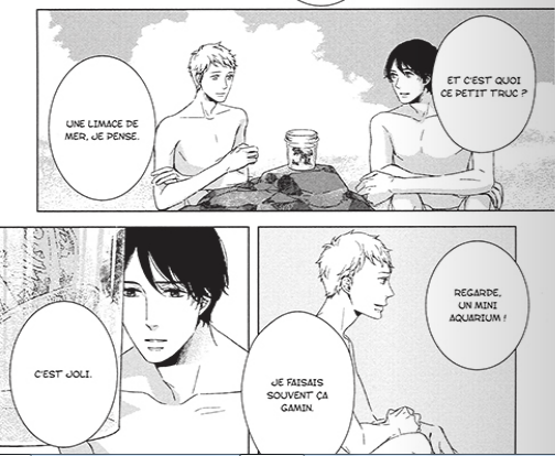 under the blue sky yaoi extrait