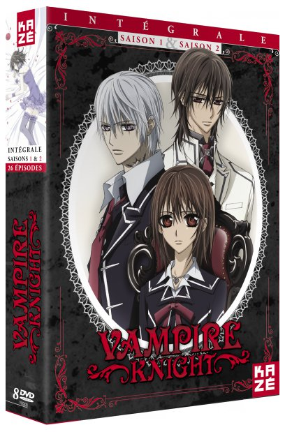 Coffret dvd Vampire Knight